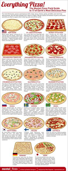 Everything But New York and Chicago Pizza: 17 of Earth's Most Other Delicious Pies