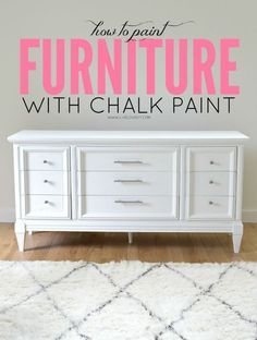 How To Paint Furniture With Chalkboard Paint | Easy DIY Furniture Painting Ideas By DIY Ready. http://diyready.com/20-awesome-chalk-paint-furniture-ideas/