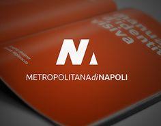 Main Project Master Graphic Design _  Il sistema di identità visiva per la metro linea 1 / Napoli