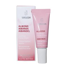 Almond Soothing Facial Cream provides deep, calming nourishment to sensitive dry skin.@Weleda