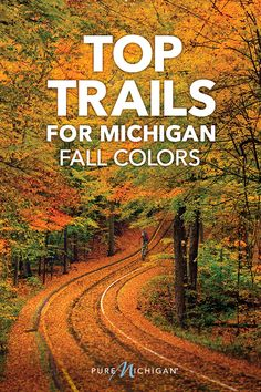 Find Michigan's best fall hiking trails. Vacation Places, Dream Vacations, Vacation Spots, Places To Travel, Travel Destinations, Italy Vacation, Michigan Vacations, Michigan Travel, Michigan Water