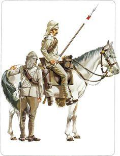 1:Trooper,21st Lancers,Sudan 1898.2:Trooper,21st Lancers,Sudan 1898.