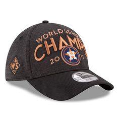 Men's Houston Astros New Era Graphite 2017 World Series Champions Locker Room 39THIRTY Flex Hat   MLBShop.com