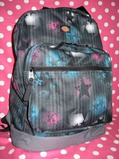 NEW-SPRAY-PAINT-CAN-GALAXY-STAR-CELESTIAL-NIGHT-SKY-PINK-BLUE-BLACK-BACKPACK-NWT