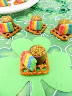 Pot of Gold Dessert Recipe for the Kids: St. Patrick's Day