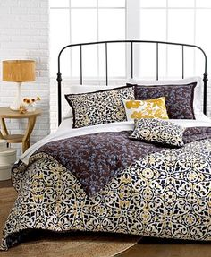 Sunset and Vines Sahara 5 Piece Comforter and Duvet Cover Sets