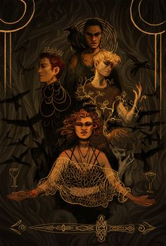 """norhuu: """"Fate,"""" Blue replied, glowering at her mother, """"is a very weighty word to throw around before breakfast."""" ― Maggie Stiefvater, The Raven Boys"""