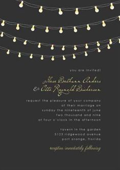 Invite - I dont have anything to invite anyone to, but I think these are so pretty!