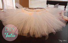 DIY Tutorial: DIY Ballerina Costume / DIY Easy and Cheap TuTu - Bead&Cord