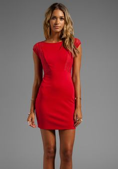 LADAKH x REVOLVE Exclusive Before the Night Dress in Red - Ladakh