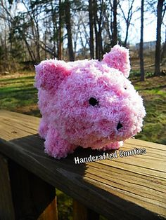 Pig Stuffie - $3.00 by Laura A. Cummings