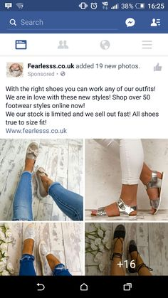 Fearless shoes. Not relevant, i dont shop online for shoes