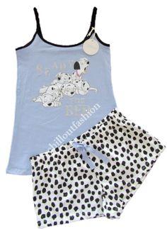 Ladies Pyjamas DISNEY ARISTOCATS  Womens Girls Cami Vest Shorts Sizes UK 6-24