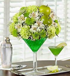 Order Apple Martini Bouquet flower arrangement from Cedar Hill Flower Girls, your local Birdsboro, PA florist. Send Apple Martini Bouquet floral arrangement throughout Birdsboro, PA and surrounding areas.