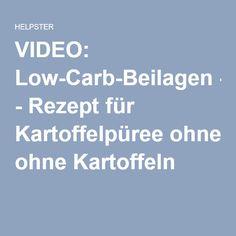 VIDEO: Low-Carb-Beilagen - Rezept für Kartoffelpüree ohne Kartoffeln