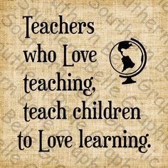 Teachers who love by SouthernSassGraphics on Etsy This for Terrence