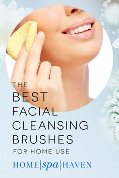 Facial cleansing brushes are now the secret weapon for loosening up dirt and oils on your face, keeping your pores as gunk-free as possible, and helping those with acne prone skin. Read on to find out the best facial cleansing brushes you can use at home! #facial #cleansingbrush #beauty #homeuse #facialcleansingbrush