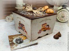 """Купить Короб-сухарница """"Пальчики оближешь"""" - комбинированный, короб, короб для хранения, короб для кухни"""