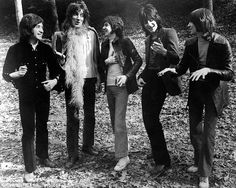 The originals: (Left to Right) Kenney, Rod, Ronnie Lane, Ronnie Wood and Ian McLagan were all part of the bands' original line-up