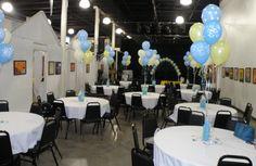 Boys Baby Shower, Balloons by Balancia LLC