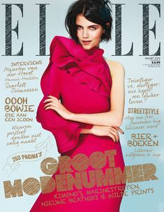 AGNES NABUURS WEARS GUCCI FOR ELLE NETHERLANDS' MARCH 2013 COVER  POSTED BY JOANNA · FEB 13TH, 2013 · 2013, COVERS, ELLE NETHERLANDS, GUCCI, THOMAS VERMEER ·