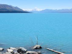 Lake Pukaki and Mt. Cook (New Zealand)