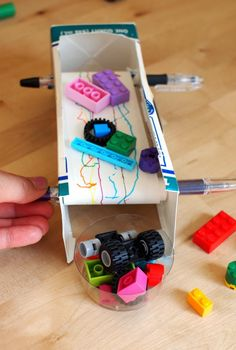 The best craft projects to make with kids, via We-Are-Scout.com: Conveyor belt.