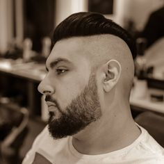 Haircut & Beard ___________________ Mode Shaved Sides, Barber Shop, Shaving, Haircuts, Model, Instagram, Barbershop, Scale Model, Haircut Styles