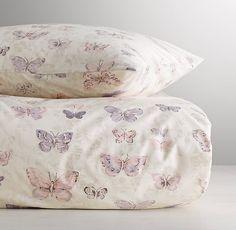 Vintage Butterfly Duvet Cover