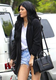 "I have to say that for me Kylie Jenner's style is a bit of a hit and miss. At times I wanna say ""Wooaahhh there missy, who gave U the wardrobe from 1990's American TV hit 'Charmed'?!?!!"" ( bad joke let's move on) - but then she does at times piece really nice items together. I can't wait until she gets out of this rebel phase so her true style can shine through, check out her tumblr for great inspiration - H x"
