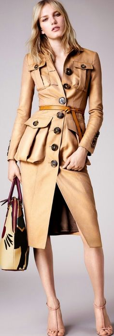 BURBERRY RESORT 2015 READY-TO-WEAR