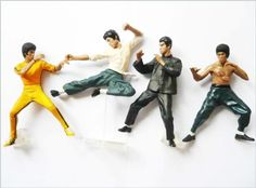 BRUCE LEE SET 4 BANDAI ACTION FIGURE KUNG FU MASTER LEGEND - FIST OF FURY, INTERCEPTING FIST, RISING DRAGON THE BIG BOSS, ENTER THE DRAGON, GAME OF DEATH (Original from TheBestMoment @ Amazon) Bruce Lee Kung Fu http://www.amazon.com/dp/B0056SJS5E/ref=cm_sw_r_pi_dp_tie0ub0JHF0SN