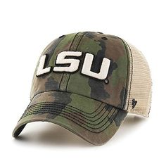 LSU Tigers Camouflage hats