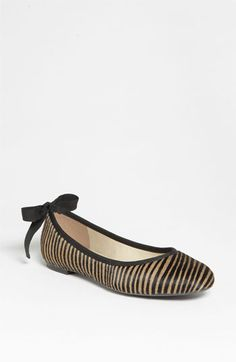 French Sole 'Gale' Ballet Flat | Nordstrom - I like animal print in very small doses