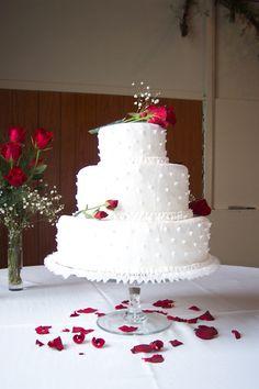 December Wedding Cake