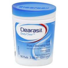 Clearasil Pore Cleansing Pads Unisex, 90 Count***2% Salicylic Acid Acne Medication.,Deep Pore Cleansing Action To Help Treat And Prevent Acne.,Great for on the go,.