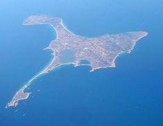 Formentera Island, off coast of Spain, not far from Balearic Island of Ibiza.