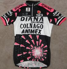 wonder if I'd like this as much if it didn't say Colnago on it. would be funny if you had a hernia in just the right spot... on ebay right now: DIANA COLNAGO ANIMEX - BIEMME - vintage cycling JERSEY - size XL