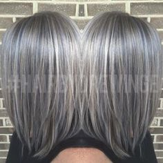 grey balayage hair - Buscar con Google