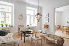 apartment arrangements modern Swedish Apartment Revealing One Cozy Corner After Another