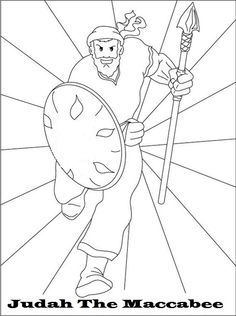 printable coloring pages maccabees | hanukkah coloring pages free | Coloring Books ...