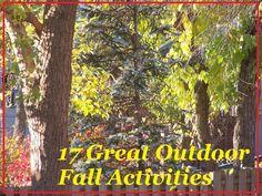 17 Fun Fall Activities