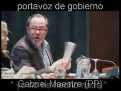La peineta del portavoz de gobierno en Cartaya