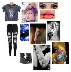 Fall Out Boy fan by foreversandalways on Polyvore featuring polyvore, fashion, style and Glamorous