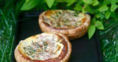 Tartelettes thon, tomate et St-Morêt