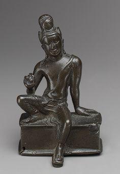 Seated Avalokiteshvara, the Bodhisattva of Infinite Compassion [Sri Lanka] (1987.142.65) | Heilbrunn Timeline of Art History | The Metropolitan Museum of Art