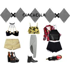 Designer Clothes, Shoes & Bags for Women Coachella, Get The Look, Couture, Shoe Bag, Polyvore, Stuff To Buy, Shopping, Collection, Design
