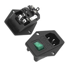 >> Click to Buy << ETC-2 Pcs IEC320 C14 Inlet Green Lamp Switch Power Socket AC 250V #Affiliate