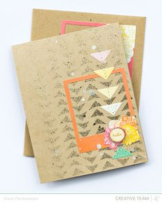 card and matching envelope by Dana Fleckenstein