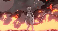 自由 の 翼 Pokemon GIF Mewtwo